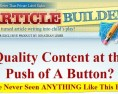 Article Builder Review